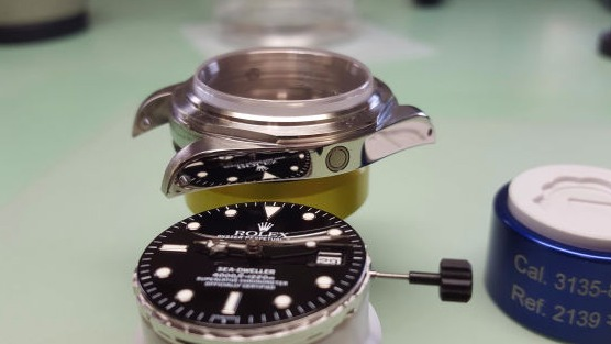 rolex sea dweller repair