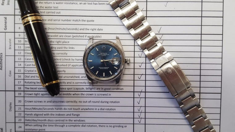 rolex repair-datejust